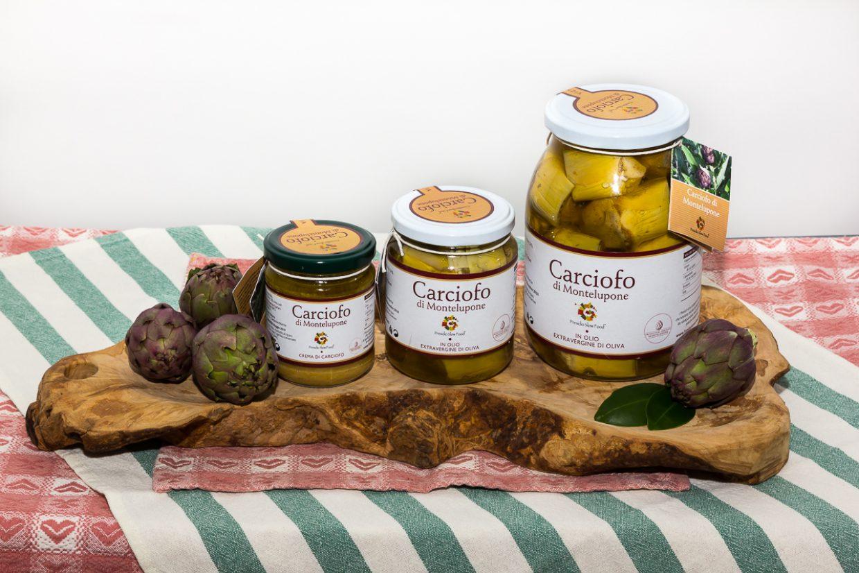 Crema di carciofo e Carciofo in Olio Extravergine di Oliva